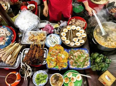 Top 6 món ăn đậm chất ẩm thực đường phố  xứ Huế