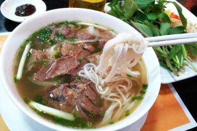 Phở bò áp chảo nổi tiếng ở Nam Định