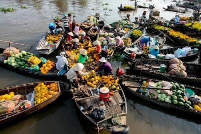 5 điểm du lịch chợ nổi Miền Tây Nam Bộ độc đáo nhất