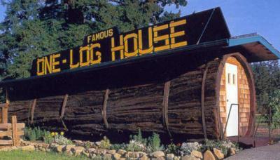 Những ngôi nhà kỳ lạ nhất nước Mỹ