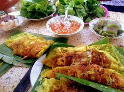Bánh xèo cá trắng, nét giao hòa ẩm thực miền Tây