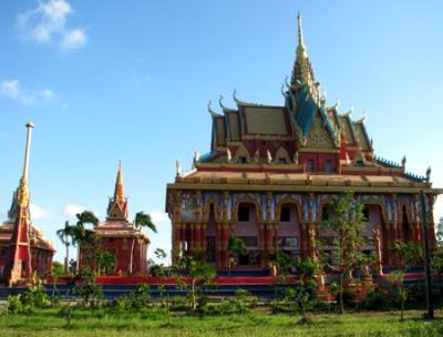 Choáng ngợp trước ngôi chùa Khmer đẹp nhất ĐBSCL
