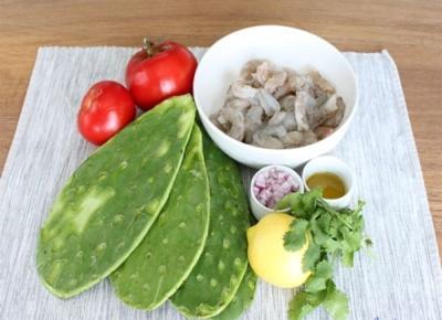 Món xương rồng ở Quảng Nam