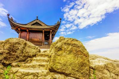 Mùa thu trên đỉnh Yên Tử