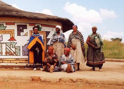 Ndebele, bộ tộc sặc sỡ nhất thế giới