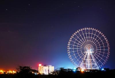 Ngắm vòng quay khổng lồ tại Đà Nẵng