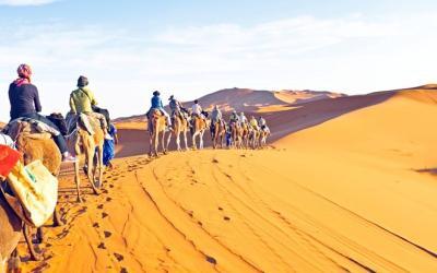 Những sa mạc hùng vĩ nhất thế giới