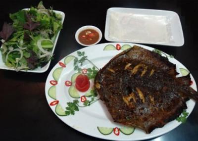 Về Đà Nẵng thưởng thức cá đuối nướng