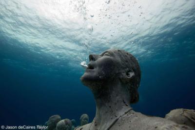 Vẻ độc đáo của bảo tàng dưới nước Cancun