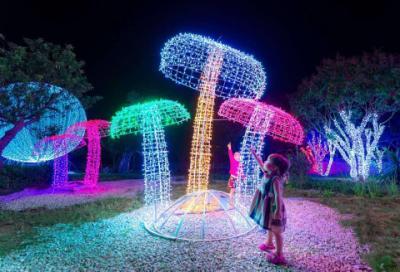 Công viên ánh sáng Pha Luông