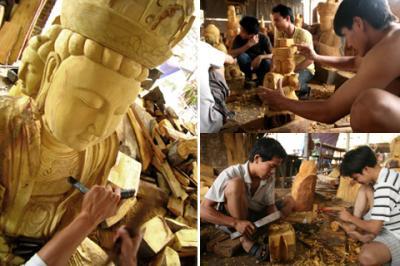 Làng nghề tạc tượng Sơn Đồng