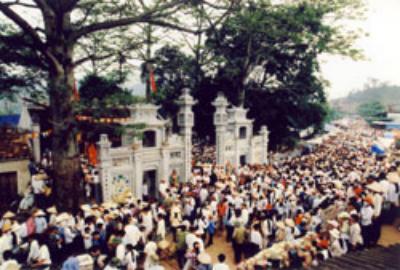 Lễ hội đền Suối Mỡ