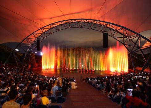Khu Sân khấu nhạc nước và biểu diễn ngoài trời